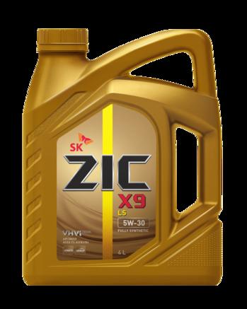 ZIC X9 LS SN/CF 5W-30, 4л