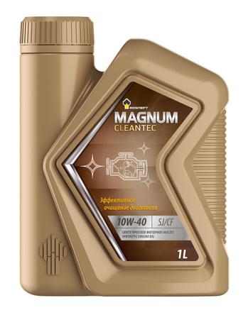 Роснефть Magnum Cleantec 10W-40 SJ/CF, 1л