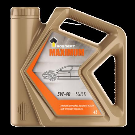 Роснефть Maximum 5W-40 SG/CD, 4л