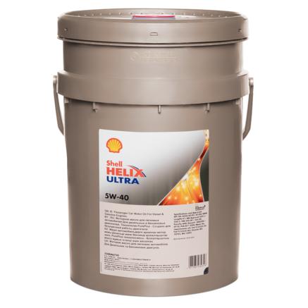 Shell Helix Ultra 5W40 SN/CF, 20л
