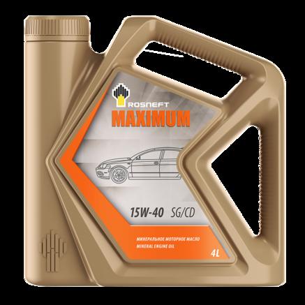 Роснефть Maximum 15W-40 SG/CD, 4л
