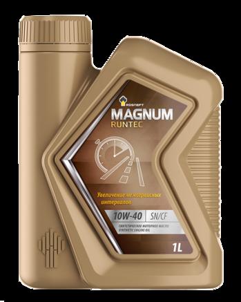 Роснефть Magnum Runtec 10W-40 SN/CF, 1л