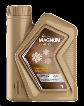 Роснефть Magnum Coldtec 5W-40 SN/CF, 1л