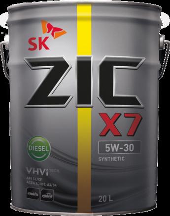 ZIC X7 Diesel CF/SL 5W-30, 20л