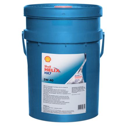 Shell Helix HX7 5W-40 SN, 20л
