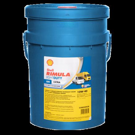 Shell Rimula Light Duty LD5 Extra 10W-40, 20л