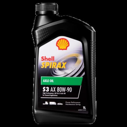 Shell Spirax S3 AX 80W-90 GL-5, 1л