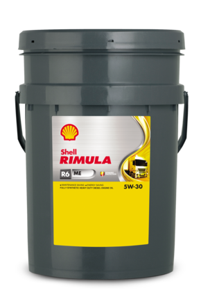Shell Rimula R6 MЕ 5W-30 CF, 20л
