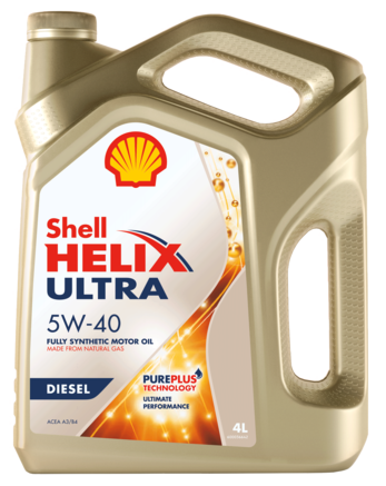 Shell Helix Ultra Diesel 5W-40, 4л