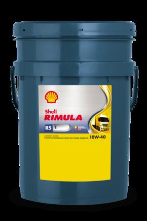 Shell Rimula R5 Е СI-4 10W-40, 20л