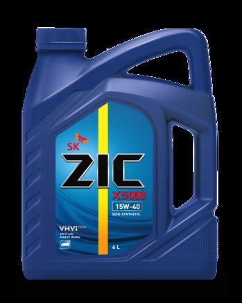 ZIC X5000 CI-4/SL 15W-40, 6л