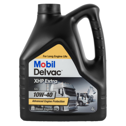 Mobil Delvac XHP Extra 10W-40, 4л