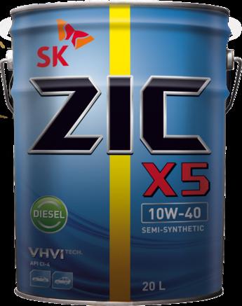 ZIC X5 Diesel CI-4/SL 10W-40, 20л