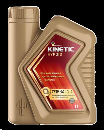 Роснефть Kinetic Hypoid 75W-90 GL-5, 1л