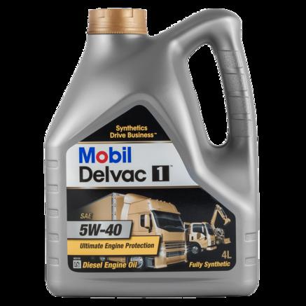 Mobil Delvac 1 5W40, 4л