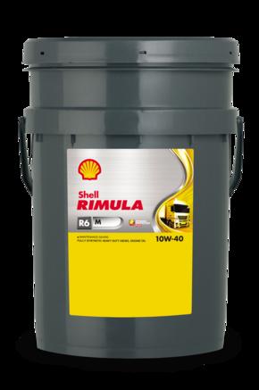 Shell Rimula R6 M 10W-40 CI-4, 20л