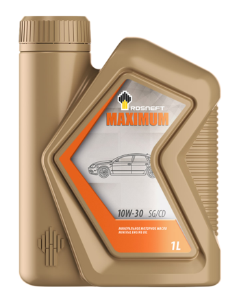 Роснефть Maximum 10W-30 SG/CD, 1 л