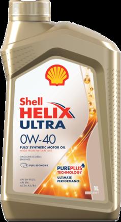 Shell Helix Ultra 0W-40 SN plus, 1л