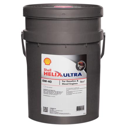 Shell Helix Ultra 0W-40 SN plus, 20л