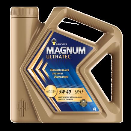 Роснефть Magnum Ultratec 5W-40 SN/CF, 4л