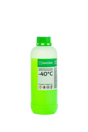 Антифриз MAGNA G-11 зеленый -40, 1кг