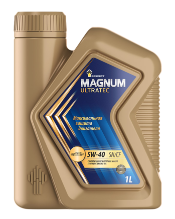 Роснефть Magnum Ultratec 5W-40 SN/CF, 1л