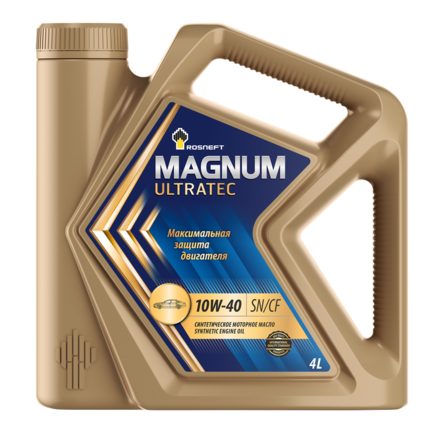 Роснефть Magnum Ultratec 10W-40 SN/CF, 4л
