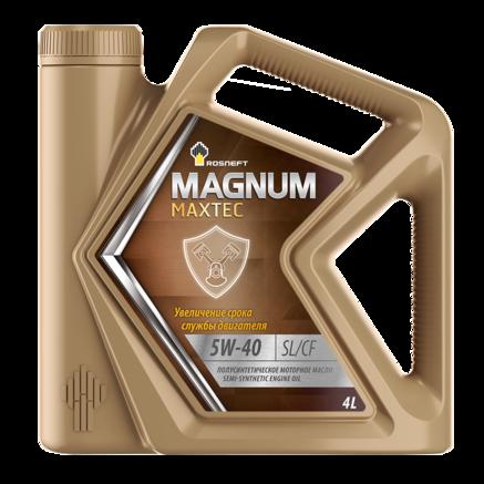 Роснефть Magnum Maxtec 5W-40 SL/CF, 4л