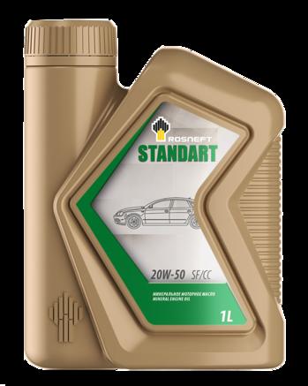 Роснефть Standart 20W-50 SF/CC, 1л