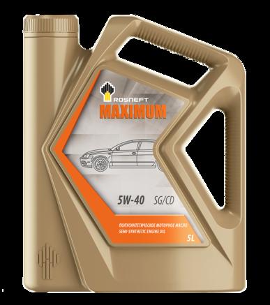 Роснефть Maximum 5W-40 SG/CD, 5л