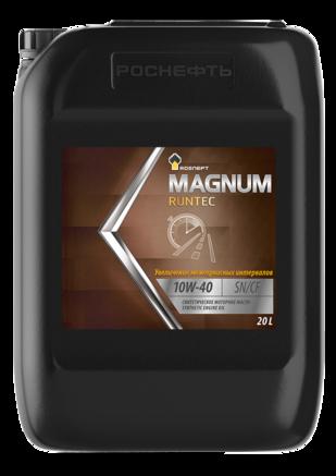 Роснефть Magnum Runtec 10W-40 SN/CF, 20л