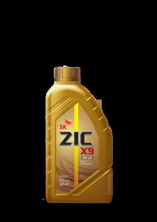 ZIC X9 SN/CF 5W-40, 1л
