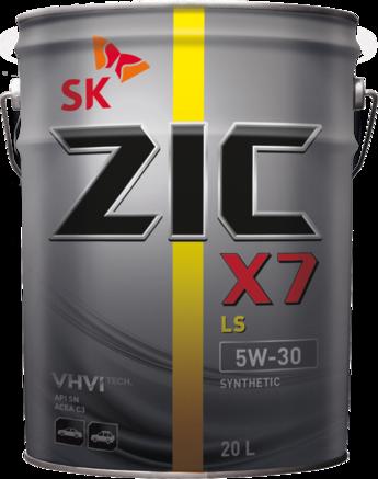 ZIC X7 LS SN/CF 5W-30, 20л