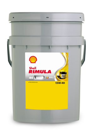 Shell Rimula R4 L 15W-40 CI-4, 20л