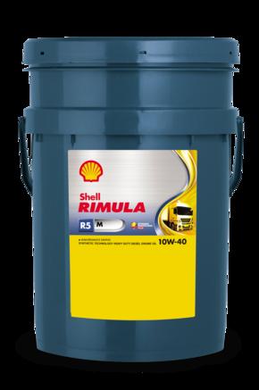 Shell Rimula R5 M 10W-40 E4, 20л