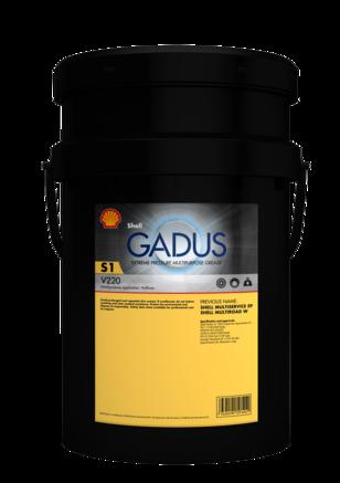 Shell Gadus S1 V220 2, 18кг