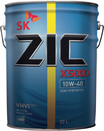 ZIC X5000 CI-4/SL 10W-40, 20л