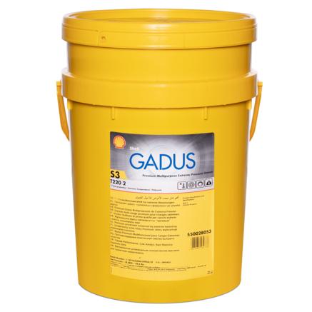 Shell Gadus S3 T220 2, 18кг