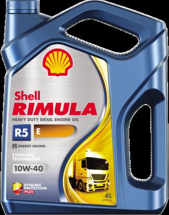 Shell Rimula R5 Е СI-4 10W-40, 4л