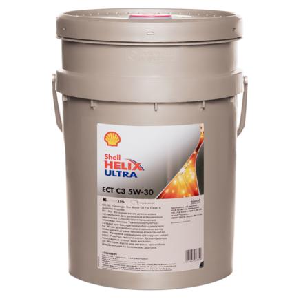 Shell Helix Ultra ECT 5W-30 SN, 20л
