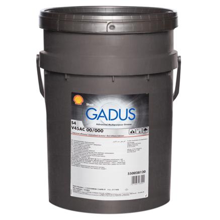 Shell Gadus S4 V45AC 00/000, 18кг