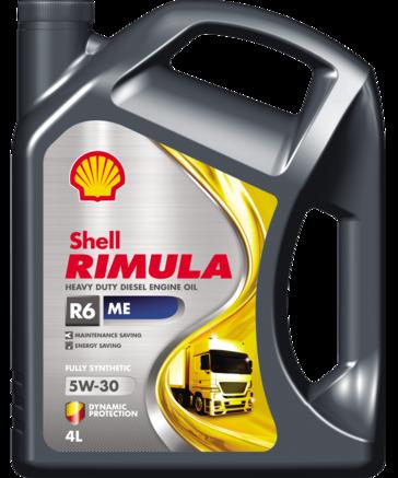 Shell Rimula R6 MЕ 5W-30 CF, 4л