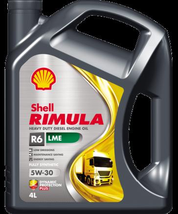 Shell Rimula R6 LMЕ 5W-30, 4л