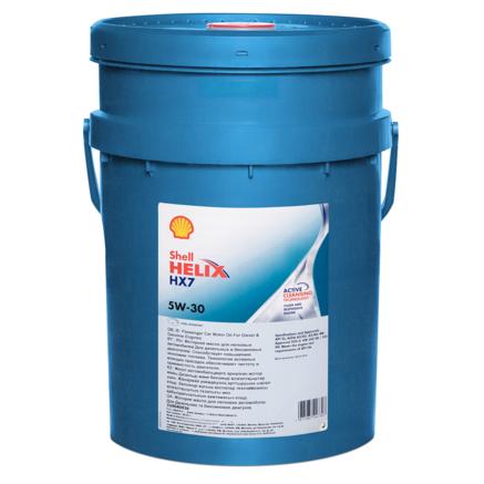 Shell Helix HX7 5W30 SL/CF, 20л