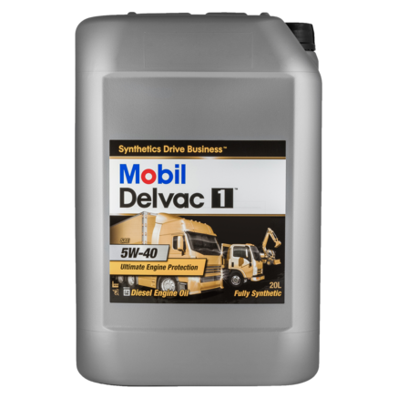 Mobil Delvac 1 5W40, 20л