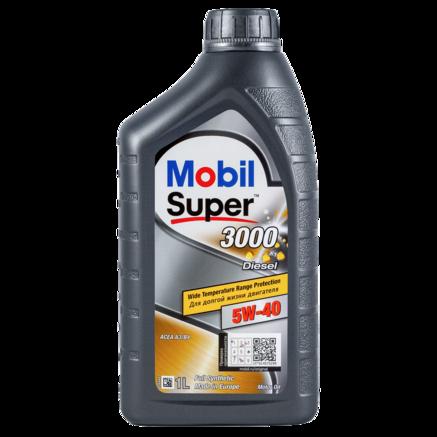 Mobil Super 3000 X1 Diesel 5W-40, 1л